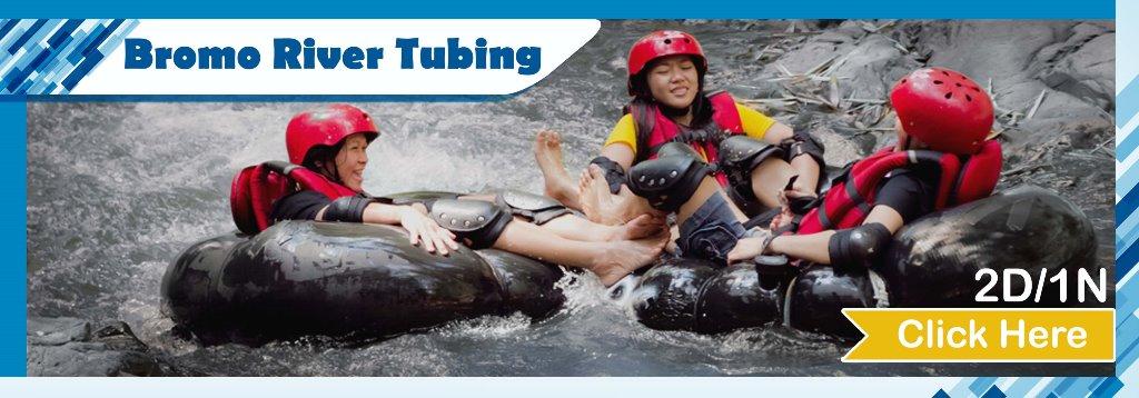 Open Trip Bromo River Tubing Amprong