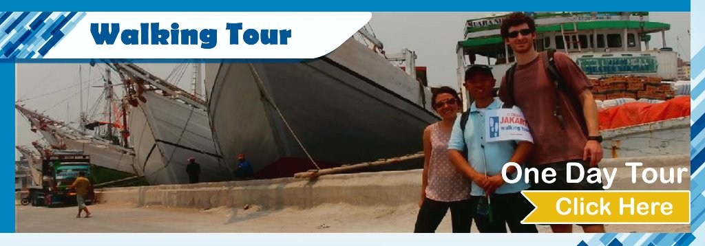 Open Trip Jakarta Walking Tour