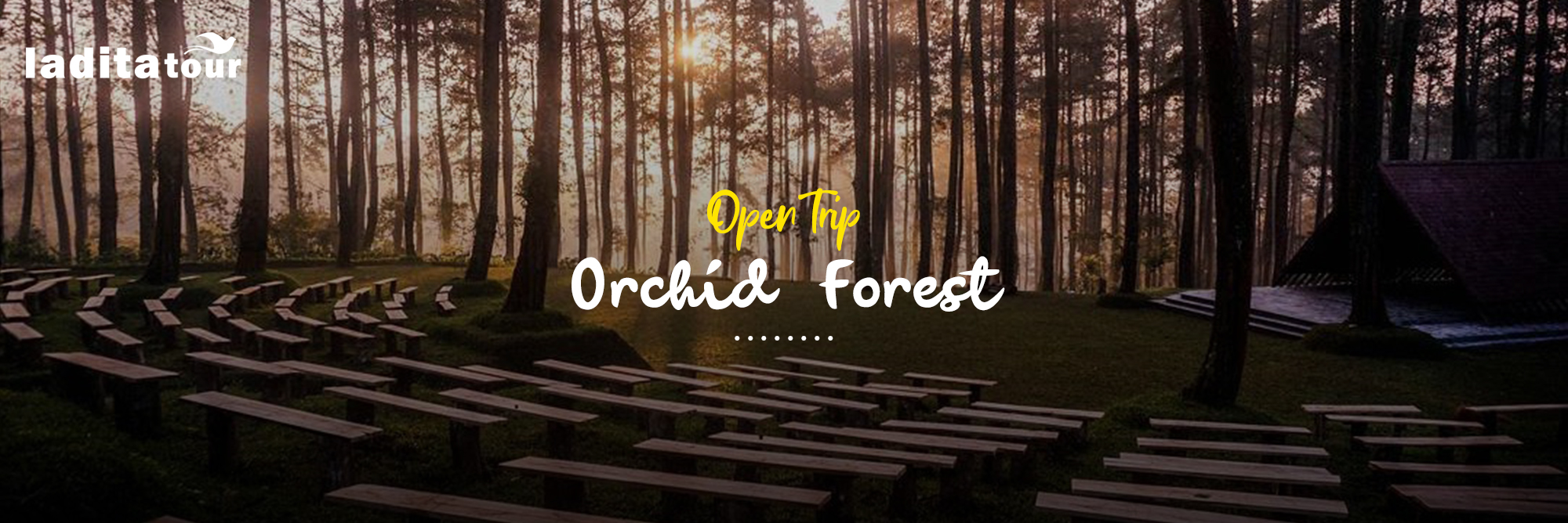 Open Trip Lembang Orchid Forest