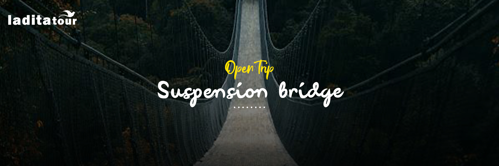 Open Trip Suspension Bridge Situ Gunung Sukabumi